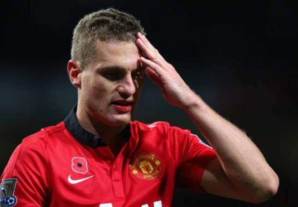 Bek Manchester United Vidic Menjadi Incaran AC Milan