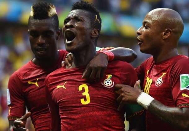 Imbangi Der Panser Jerman Asamoah Gyan Akui Ghana Sempurna